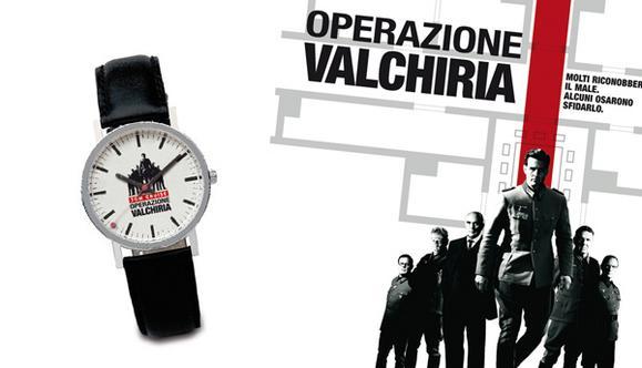 Realizzazione gadget film Operazione Valchiria - orologio da polso
