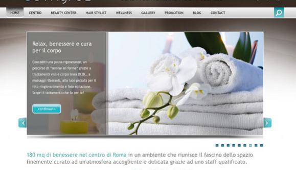 Realizzazione sito web Centro Benessere Myrea