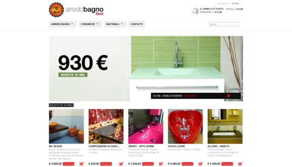 eCommerce Arredo Bagno Stock