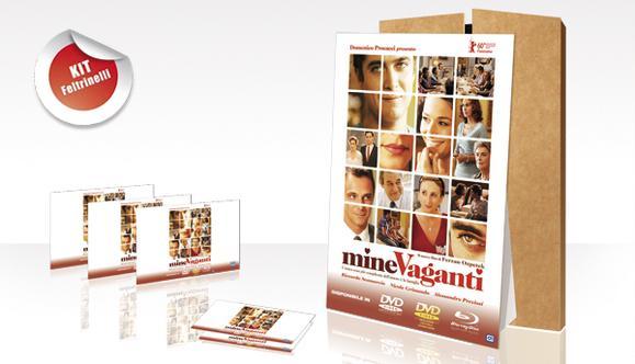 Realizzazione kit promozionali per il film Mine Vaganti - locandine e cartonati