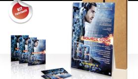 Materiale promozionale per il film 'Source Code