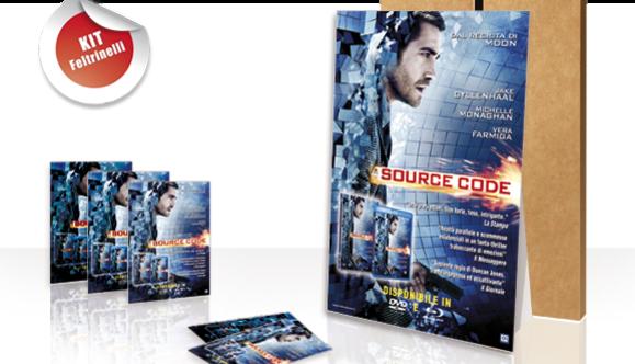 Locandine e Cartonati per il film Source Code