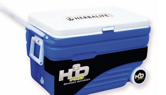 Personalizzazione 'H3O - Bevanda Isotonica' del mini-frigo portatile Herbalife