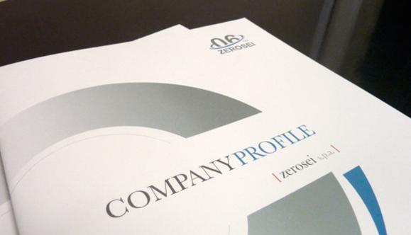 Brochure istituzionale e volantino promozionale