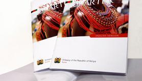Opuscolo Ambasciata del Kenya