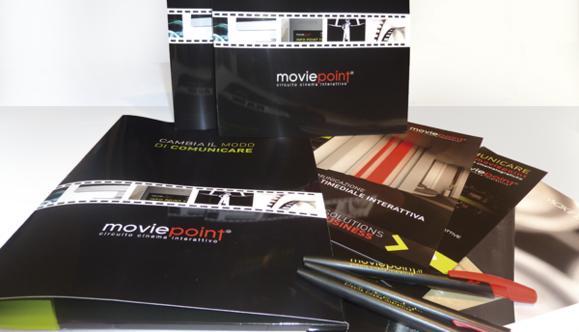 [2010] Ideazione e realizzazione materiale promozionale Moviepoint
