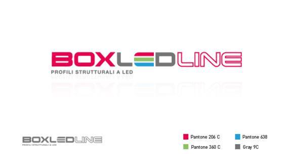 Ideazione e progettazione logo Box Led Line