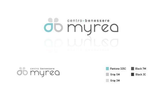 Realizzazione logo per il Centro Benessere Myrea