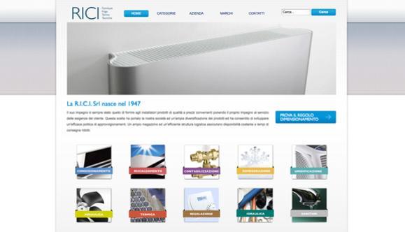 Realizzazione del sito per R.i.c.i. Srl