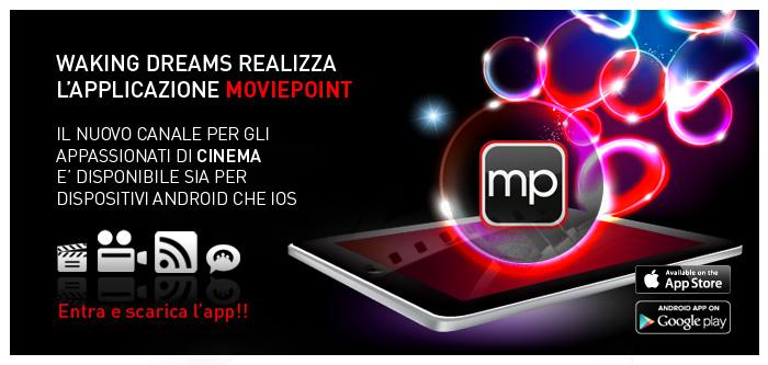 Lancio della Applicazione Mobile di Moviepoint.it