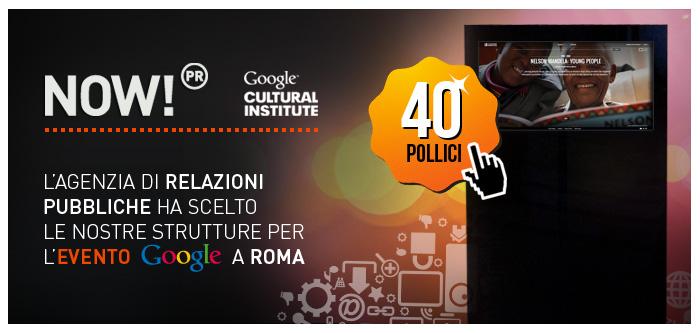 Evento Google Cultural Institute a Roma