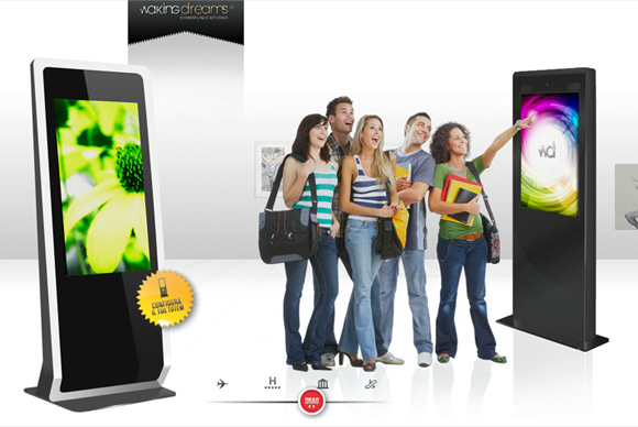 Totem Touch Screen - Grafica sito web