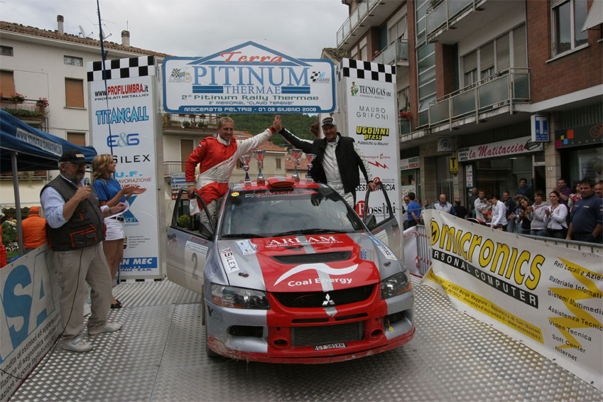 Rally di Pitinum 2009 - Il podio